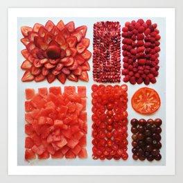 Red-It Art Print