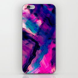 Reflection Abstract Digital Painting iPhone Skin
