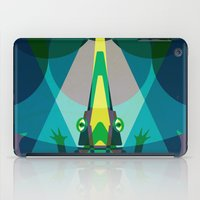 crocodile iPad Cases featuring Crocodile by youareconstance