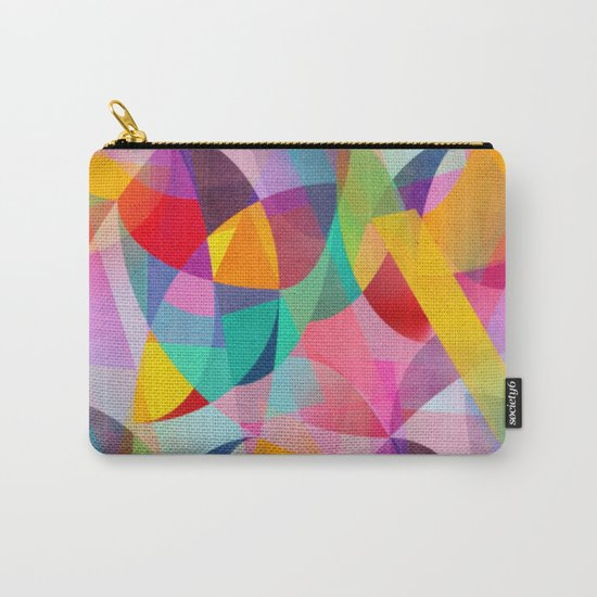 Girly Geometric Dreams Carry-All Pouch