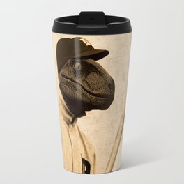 Baseball Velociraptor Travel Mug