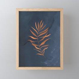 Falling Leaves II Framed Mini Art Print