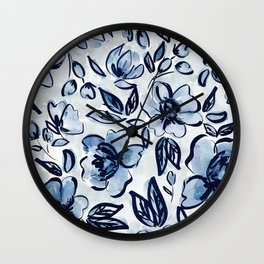 Fresh Morning Buds Wall Clock