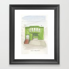 002.  Framed Art Print