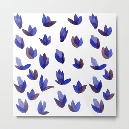 Read My Tulips Metal Print