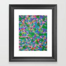 wrinkles Framed Art Print