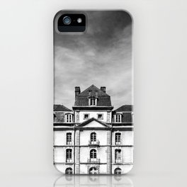 Hermine Castle Monochrome iPhone Case