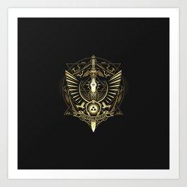 The Legend Of Zelda I Art Print