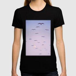 Seagulls & Moon by Murray Bolesta T-shirt