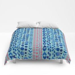 Watercolour Shapes - Magic Villa Comforters