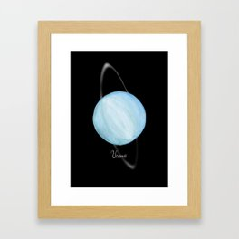 Uranus #2 Framed Art Print