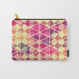 Love triangle pattern art Carry-All Pouch