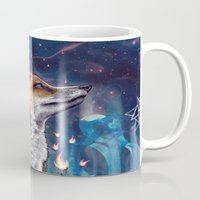 justin timberlake Mugs featuring There is a Light by Mat Miller
