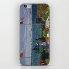 Garden at Sainte-Adresse by Claude Monet iPhone & iPod Skin