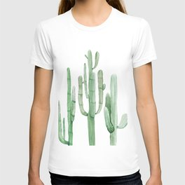 Three Amigos White + Green by Nature Magick T-shirt