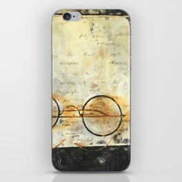 Father's Glasses iPhone Skin