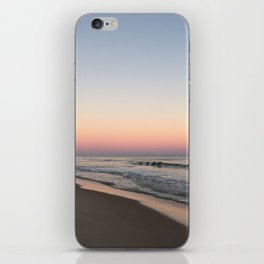 Beach Sunset with Iridescent Sand iPhone Skin
