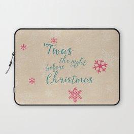 Night before Christmas Laptop Sleeve