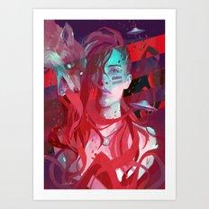 MISS SOULS Art Print