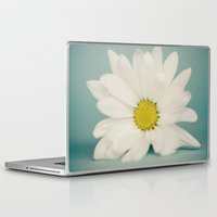 daisy Laptop & iPad Skins featuring DAISY  by Laura Ruth
