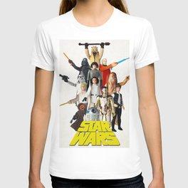 Star War s Vintage Action Figures - First 12 T-shirt