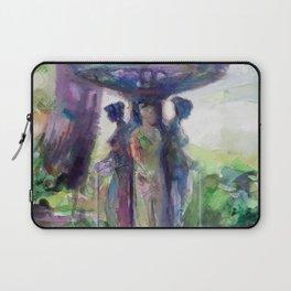 Three Graces Fountain Laptop Sleeve
