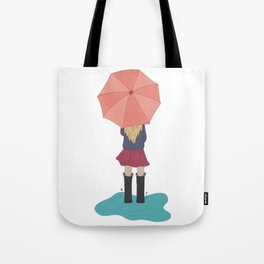 Play in the Puddles Tote Bag