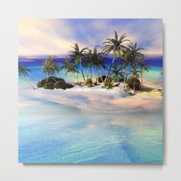 Wonderful view over the island Metal Print