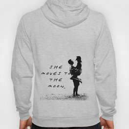 She moves to the Moon Hoody