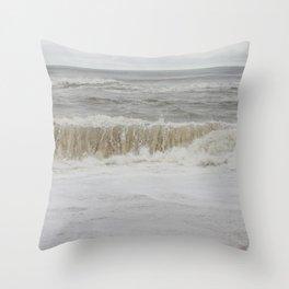 Ocean Tides IV Throw Pillow