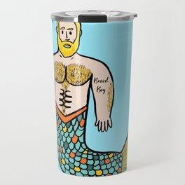Beard Boy Merman: Flynn Travel Mug