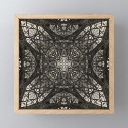 Branching Symmetry Framed Mini Art Print