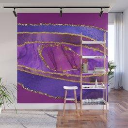 Luxury Purple Agate Wall Mural