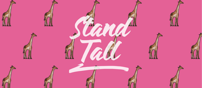 Polyart Giraffe - Stand Tall Coffee Mug