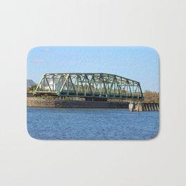 Swing Bridge Opened Bath Mat