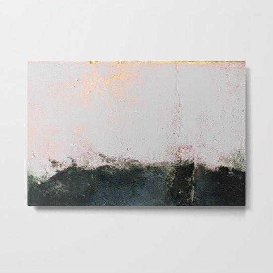 abstract smoke wall painting Metal Print