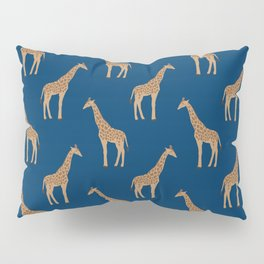 Giraffe african safari basic pattern print animal lover nursery dorm college home decor Pillow Sham