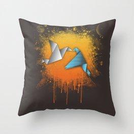 Flightless birds Throw Pillow