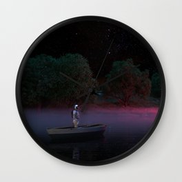 River to Space Wall Clock