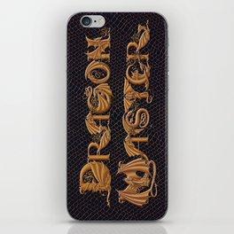 Dracoserific Dragon Master iPhone Skin