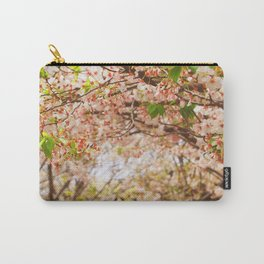 Cherry Blossom (sunny) Carry-All Pouch