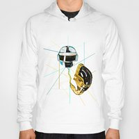 daft punk Hoodies featuring Daft Punk by Naje Anthony Hart