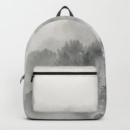 Yesterday.... Into the foogy woods Backpack