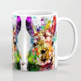Llama Grunge Coffee Mug