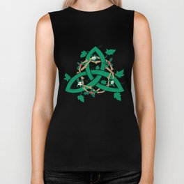 The Holly And The Ivy Biker Tank