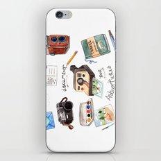 Document Your Adventures iPhone & iPod Skin