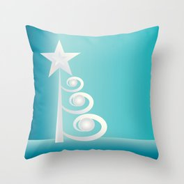 Pearls for Christmas Throw Pillow