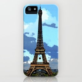 Paris Retro iPhone Case