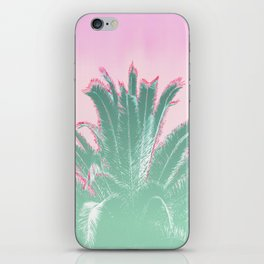 Palm Tree Leaves Tropical Vibes Design iPhone Skin