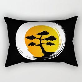 Zen Tree Rectangular Pillow